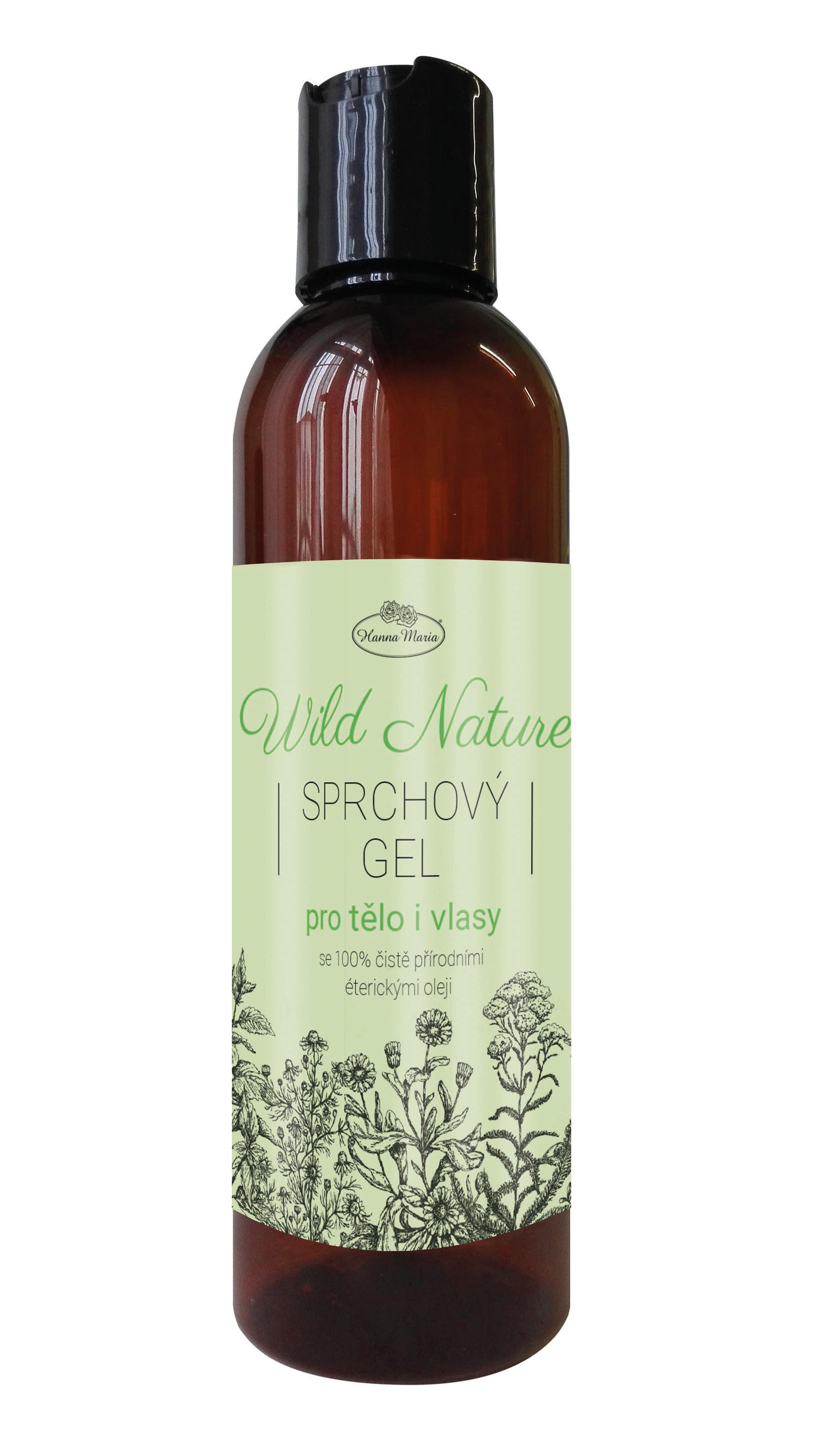 Sprchový gel 2v1 WILD NATURE 200 ml