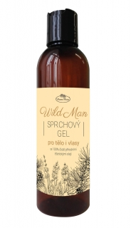 Sprchový gel 2v1 WILD MAN 200 ml